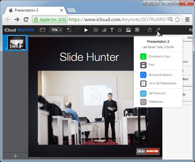 Download Keynote presentation
