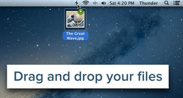 Drag And Drop Files And Folders To Share Them Online