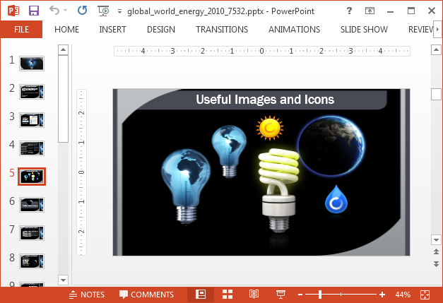 Earth and energy clipart