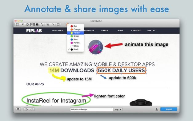 Edit And Annotate Screenshots On Mac