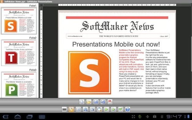 Edit PowerPoint Presentations On Android