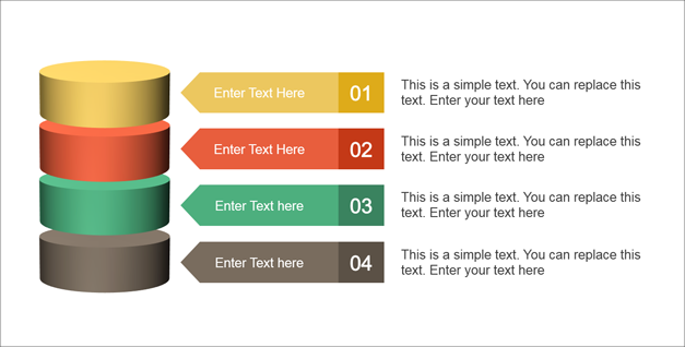 Editable diagram slides