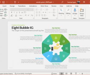 Eight bubble IG
