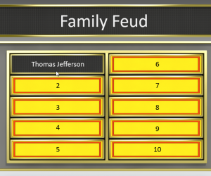 Family Feud template for PowerPoint