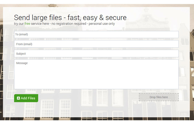 FileMail for sending large files