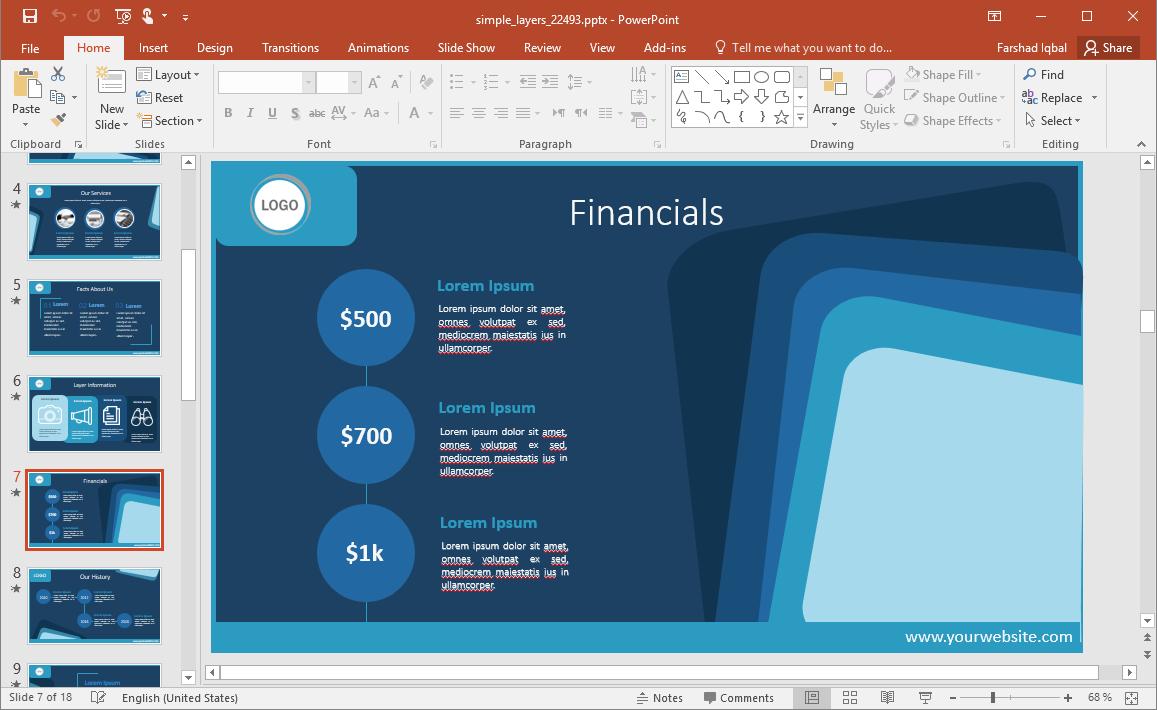 Financial Slides