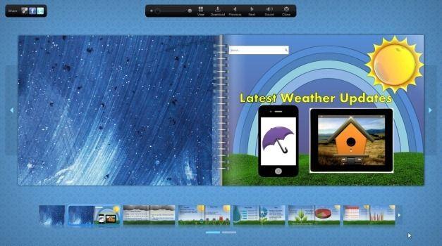 Flipbook in Fullscreen Mode