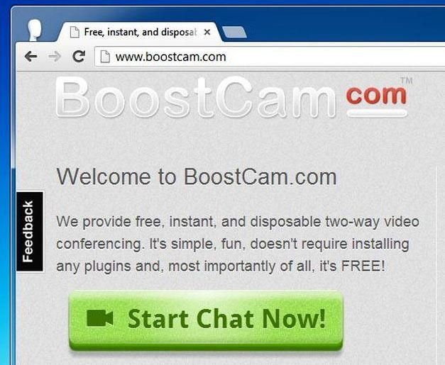 Free, instant, and disposable two-way video chat!  BoostCam