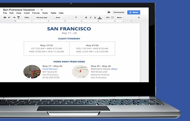 Google Drive desktop class features