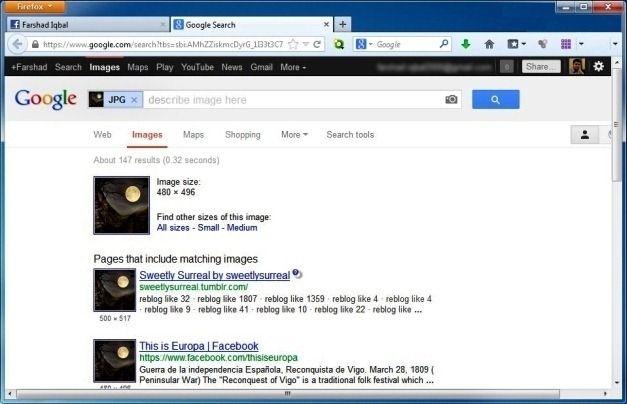 Google Reverse Image Lookup