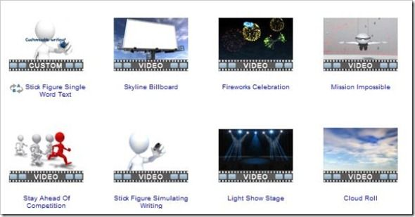 HD Video Backgrounds at PresenterMedia