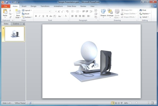 Hard Working On Computer Animation