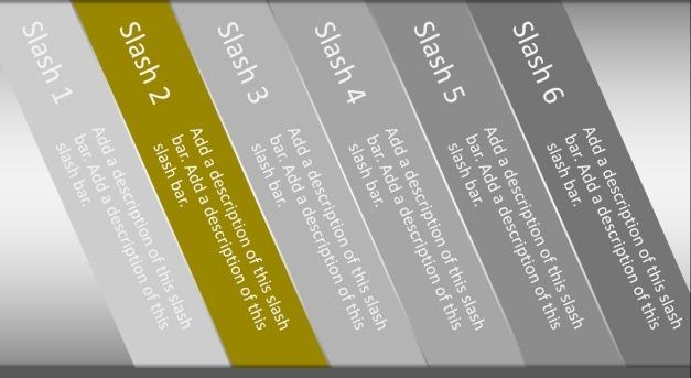 Highlight infographic slides