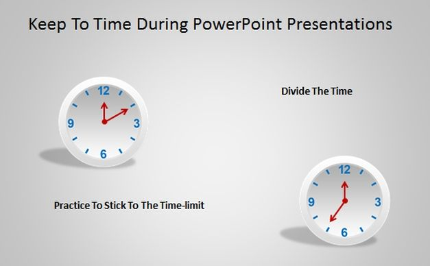 How To Keep To Time During PowerPoint Presentations