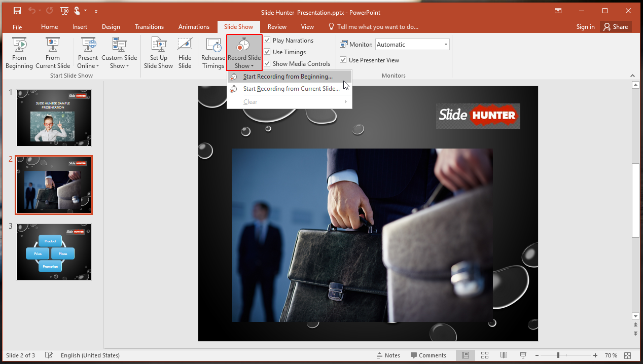 How to Record a PowerPoint Slide Show with Narration