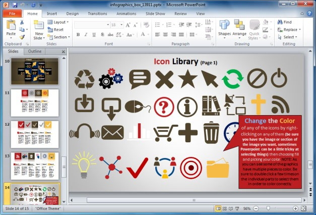 Infographic Icon Library