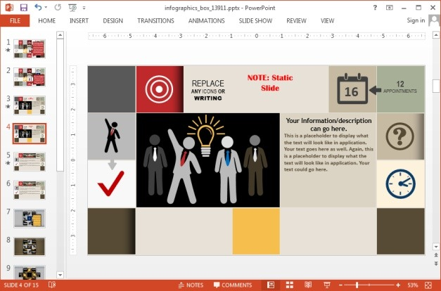 Infographic template for PowerPoint and Keynote