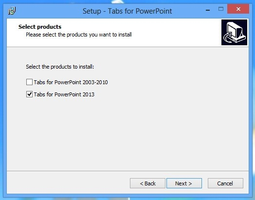 Install Tabs For powerPoint