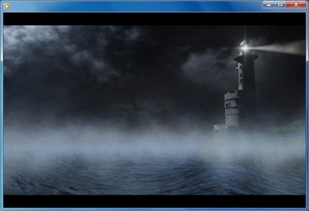 Lighthouse animation for PowerPoint