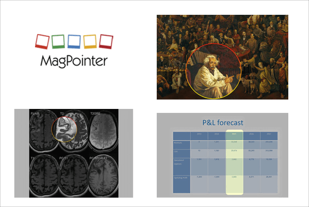 MagPointer add-in for PowerPoint