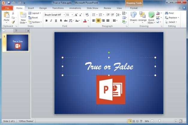 Making PowerPoint Presentations