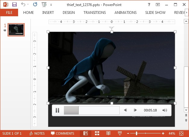 Medieval spy video background for PowerPoint