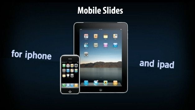 Mobile slides App For iPad and iPhone