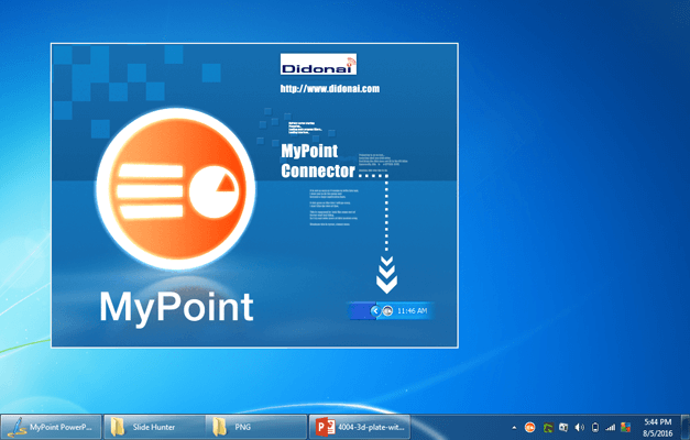 MyPoint remote connector app for PC