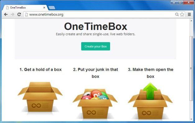 OneTimeBox