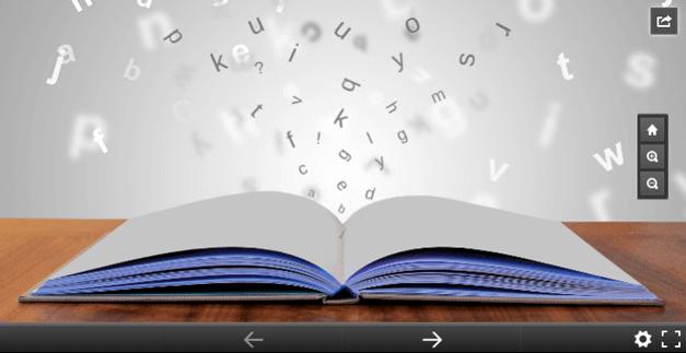 Open book Prezi template