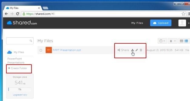 Organize Files Online