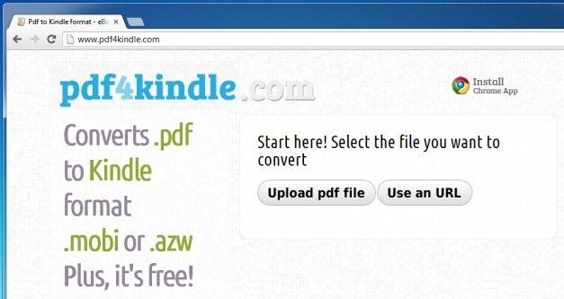 Pdf to Kindle format - eBook Converter