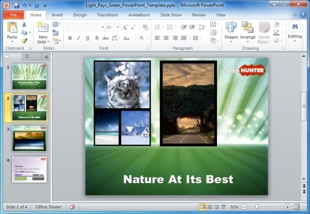 Photo Collage in PowerPoint