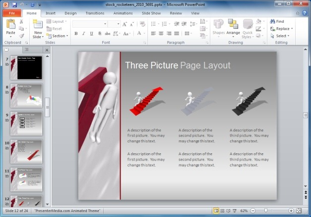 Picture Layout For Presentations