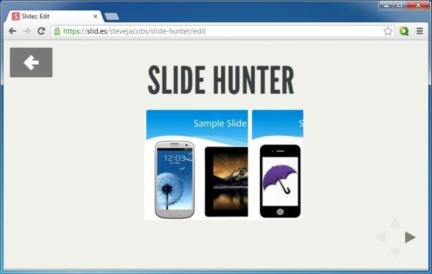 Present Presentations From Any Modern Browser