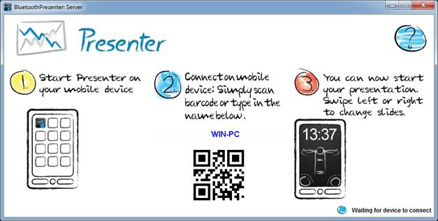 Presenter desktop app
