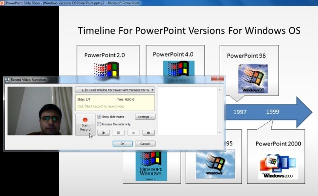 Record Presentations With PowerPoint Slide Shows And Voice Over