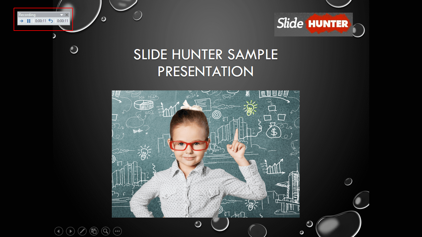 Record Slide Show with Time and Animations