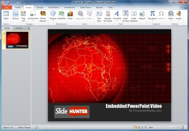Red Earth Video Animation
