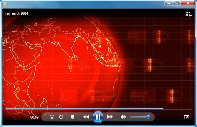 Red Earth Video Background
