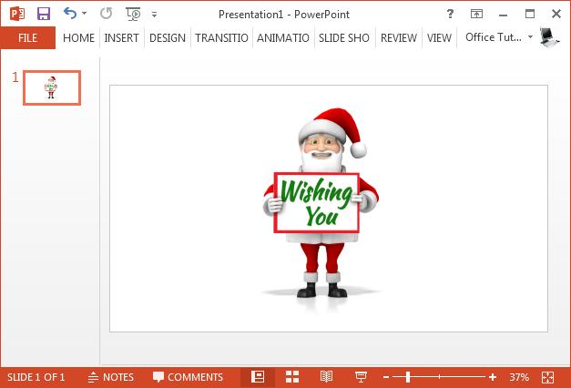 Santa clipart with custom text