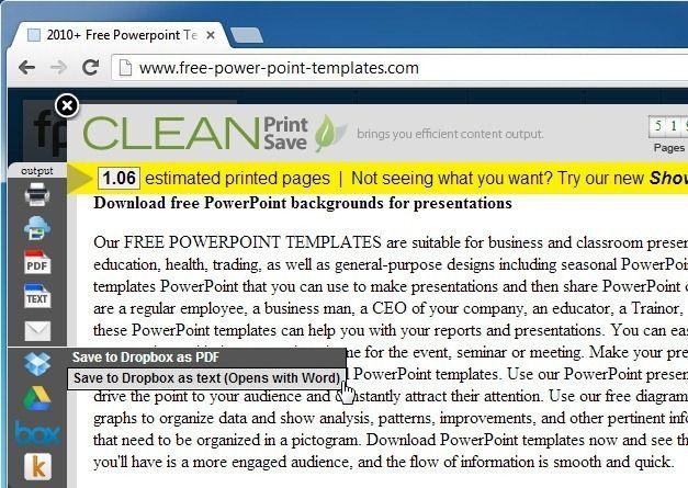 Save Document To Dropbox