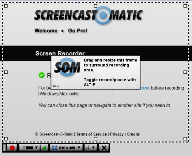 Screen Recorder  Screencast-O-Matic