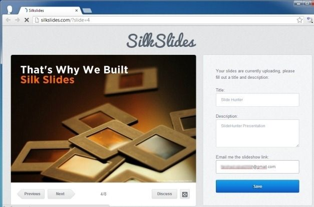 Select Presentation File