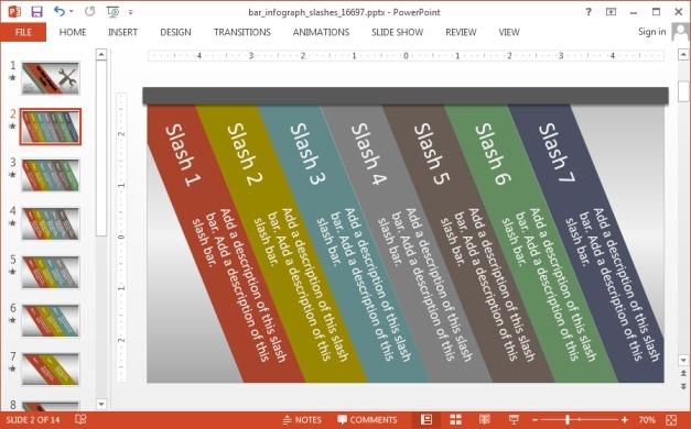 Seven slash comparison slide