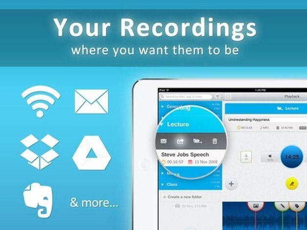 Share Audio Files Via Cloud