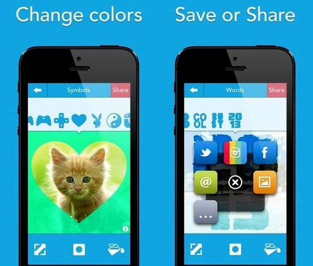Share Transformed Images Across Facebook, Instagram, And Twitter