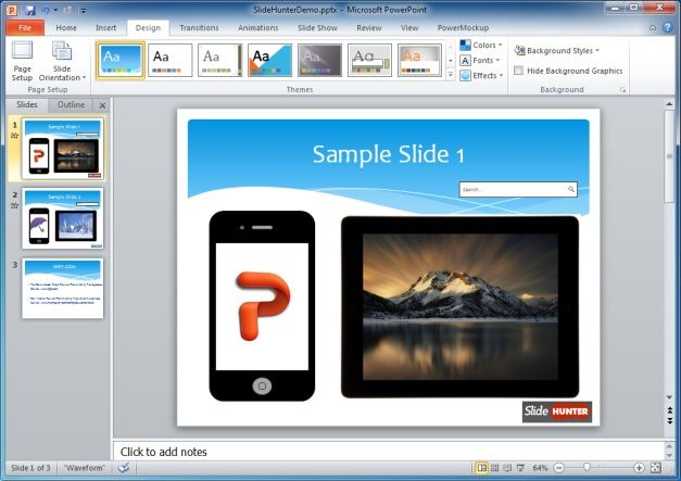 SlideHunter Presentation