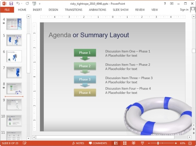 Slides for risk related topics
