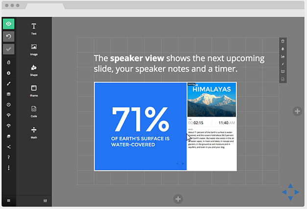 Slides web service